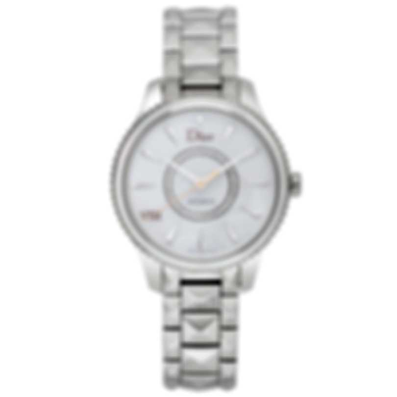 Dior Viii Montaigne Diamond Mother Of Pearl Automatic Ladies Watch CD153512M001
