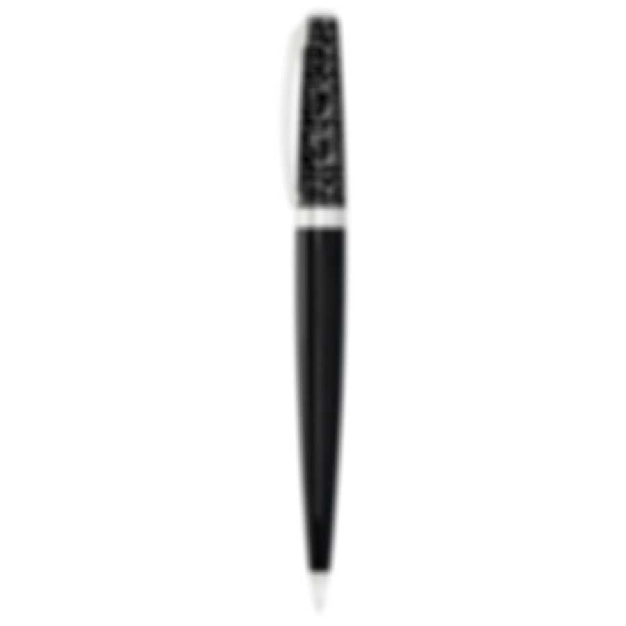 Dior Fahrenheit Nickel Palladium And Lacquer Ballpoint Pen S604-305SIGN