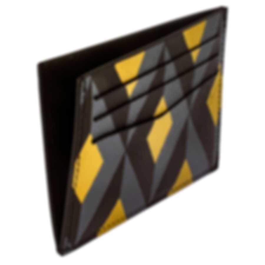 Dunhill Cadogan Engine Turn Leather Card Case 18F230CCT731R