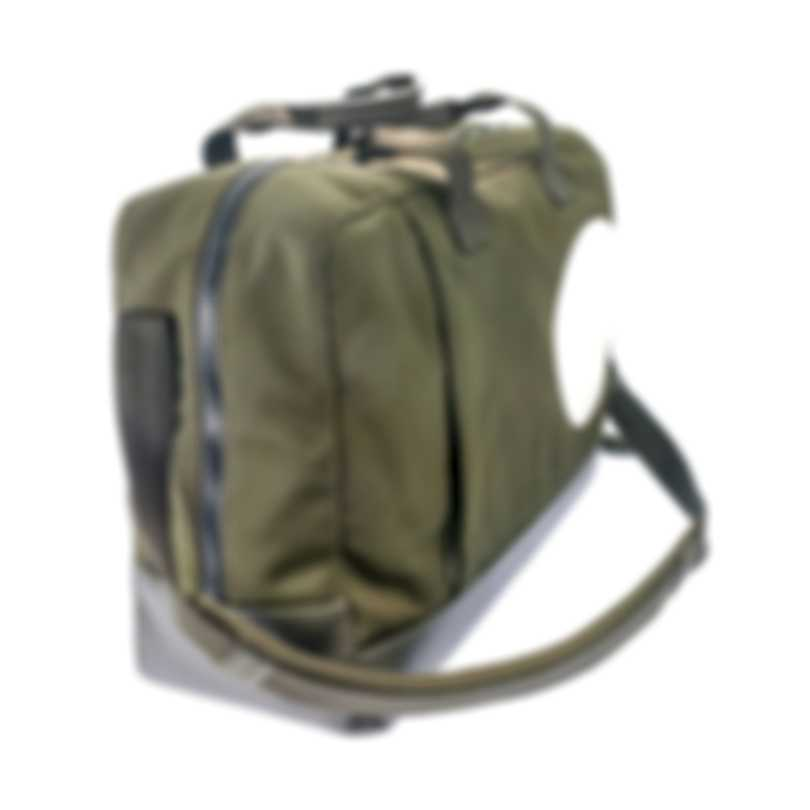 Dunhill Men's Olive Canvas And Leather Holdall 18F32-50TR312