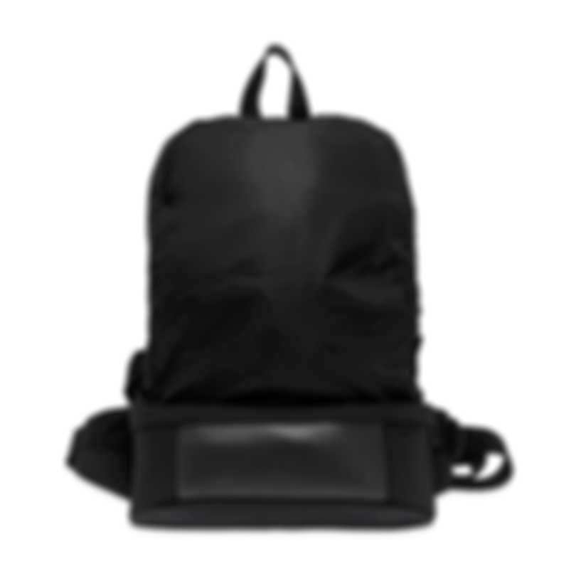 Dunhill Black Nylon Waist/Backpack Bag 18F39-70TR001