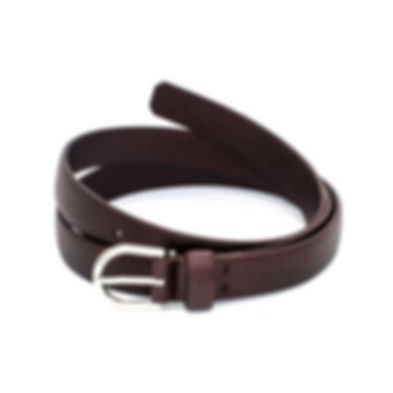 Dunhill Men's Burgundy Leather Belt 18F4T-01GR601-38