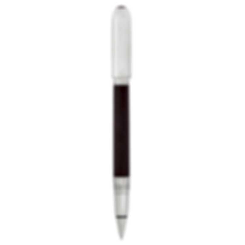 Dunhill Sidecar Burgundy & Silver Leather Rollerball Pen 18FWU1233601TU