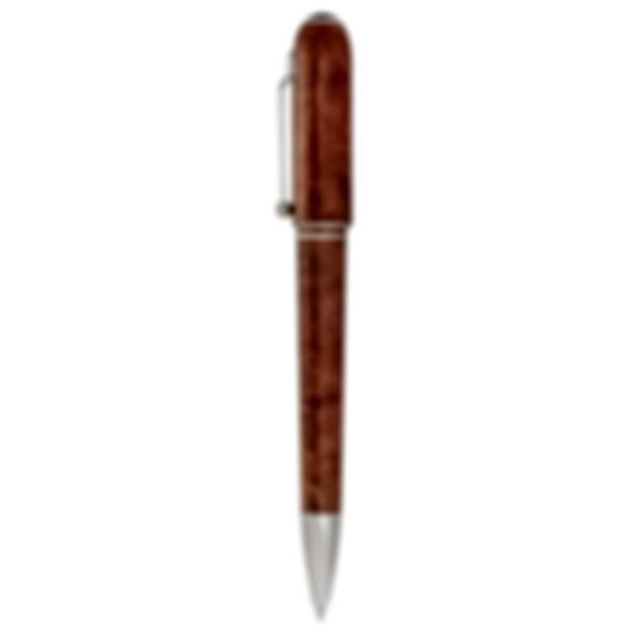 Dunhill Sidecar Chestnut & Silver Resin Ballpoint Pen 18FWU1723212TU