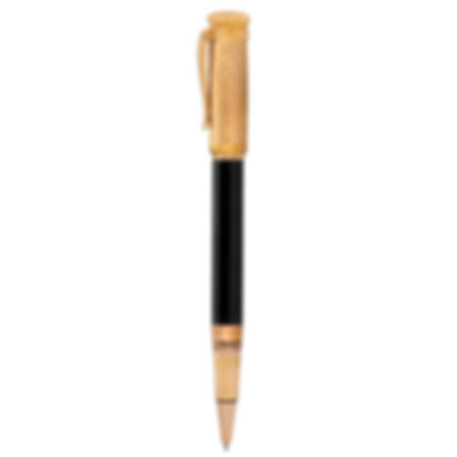 Dunhill Sentryman Black & Gold Resin Rollerball Pen 18FWW0833001TU