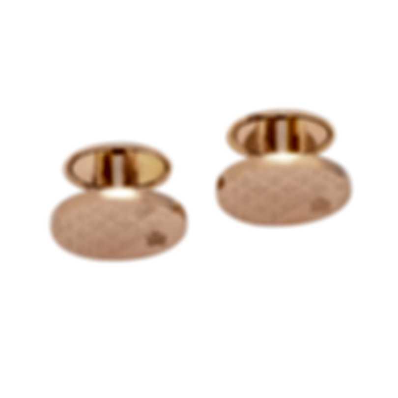 Dunhill Modernist Gold Sterling Silver Cufflinks 18FUS8214040TU