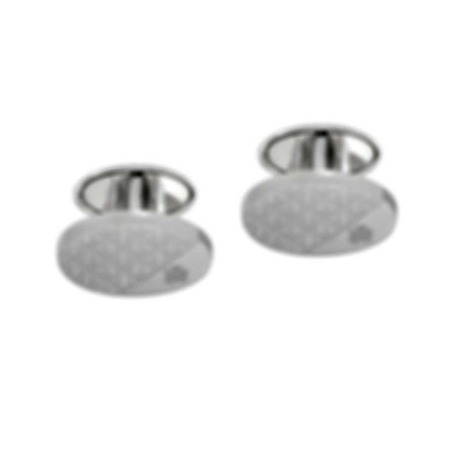 Dunhill Modernist Sterling Silver Cufflinks 18FUS8213040TU
