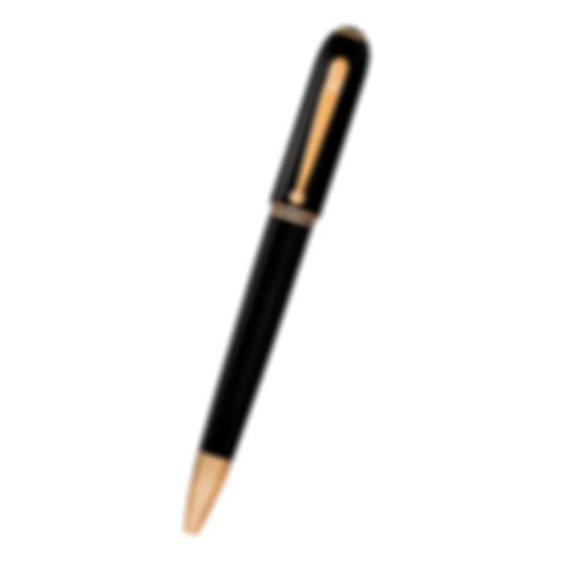 Dunhill Sidecar Black & Gold Resin Ballpoint Pen 19FWU2823717TU