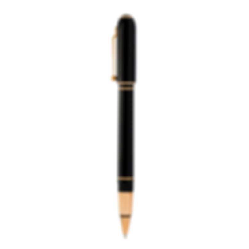 Dunhill Sidecar Black & Gold Resin Rollerball Pen 19FWU2933717TU
