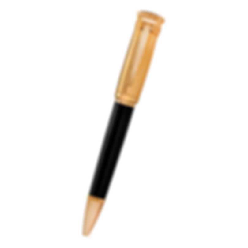 Dunhill Sentryman Black & Gold Resin Ballpoint Pen 19FWW1423717TU