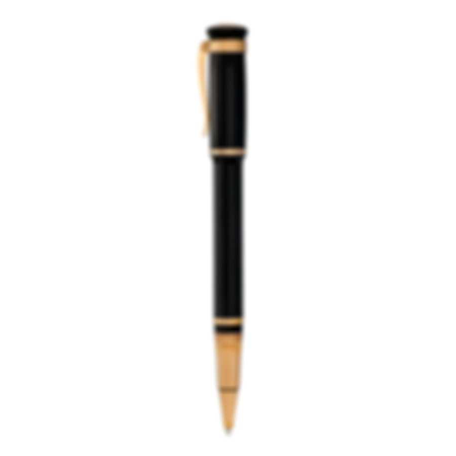 Dunhill Sentryman Black & Gold Resin Rollerball Pen 19FWW2733717TU