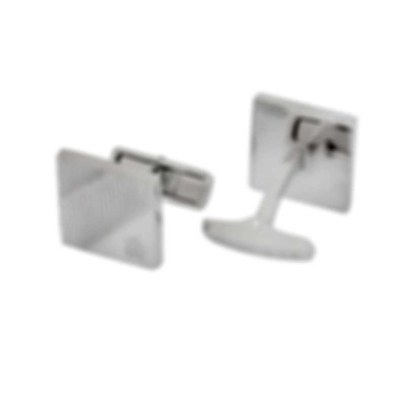 Dunhill Diagonal Stroke Sterling Silver Cufflinks 19FUS8217040TU