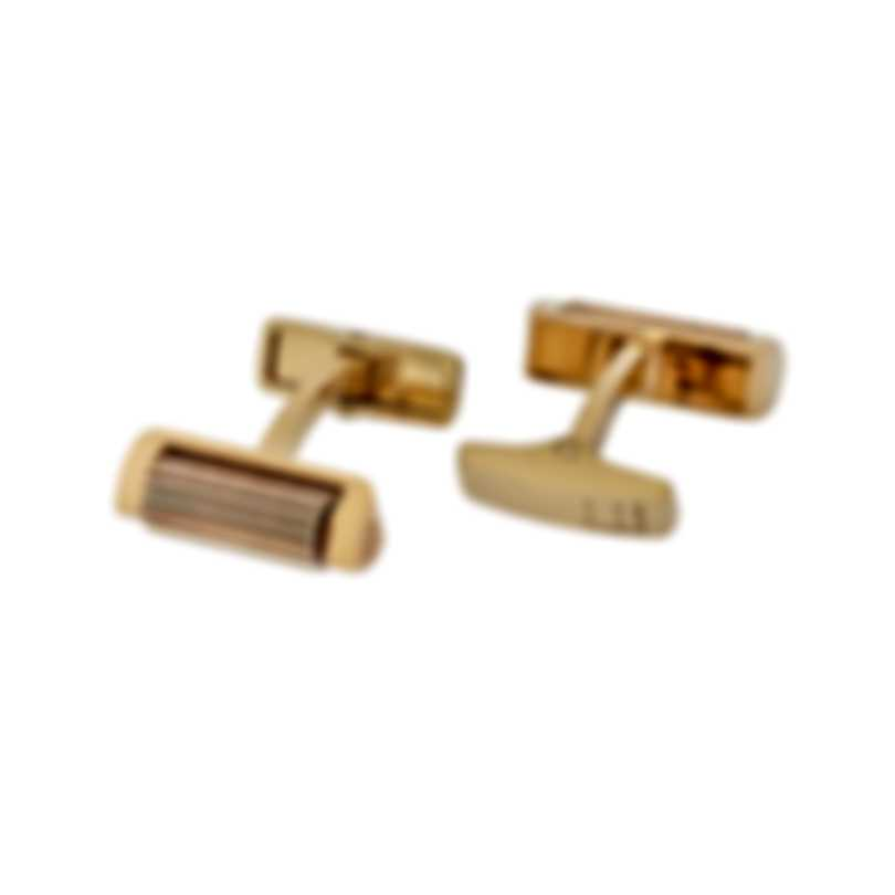 Dunhill Roller Gold Sterling Silver And Gold Plate Cufflinks 19FUS8211040TU