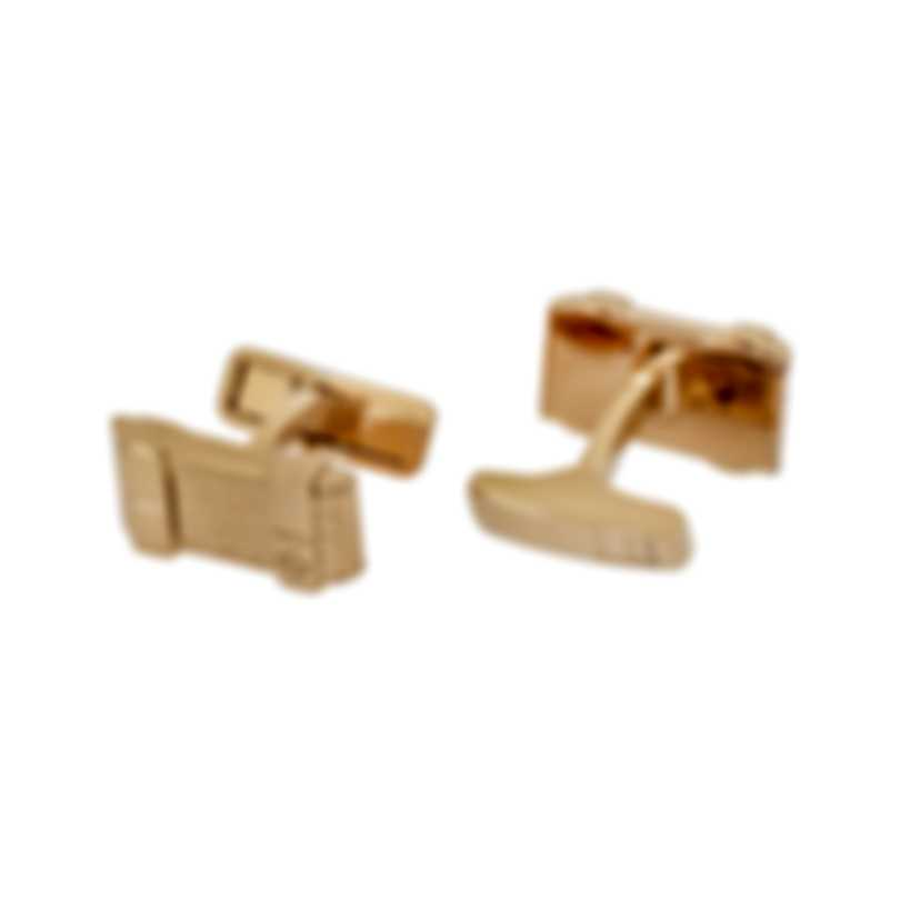 Dunhill ET Thread Gold Sterling Silver And Gold Plate Cufflinks 19RUR8202710TU