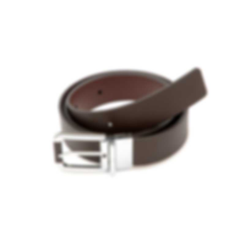 Dunhill Brown Leather Belt HPW800B