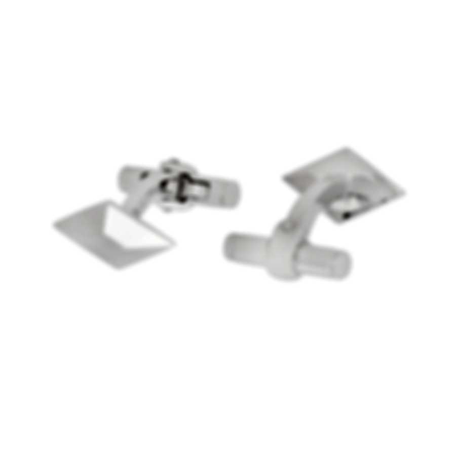 Dunhill Diamond Stud Sterling Silver Cufflinks JMA82A7H