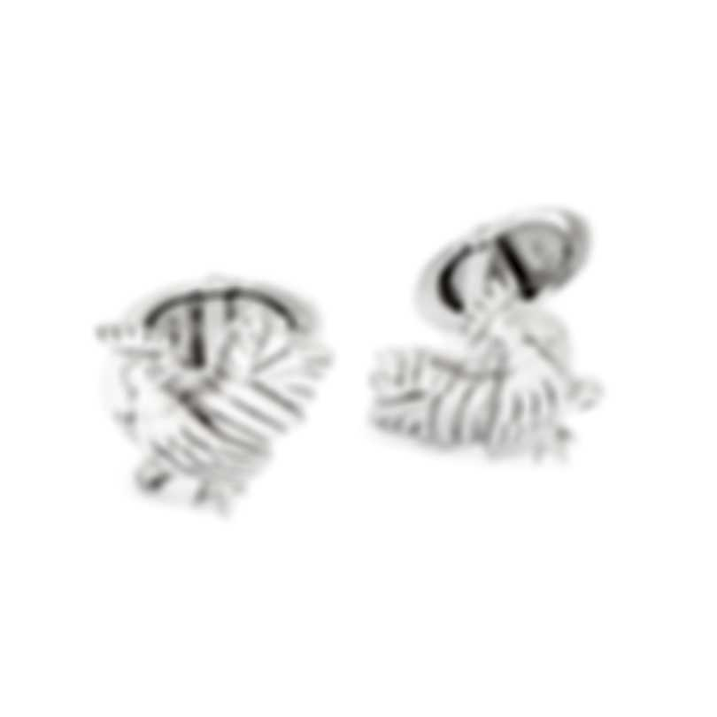 Dunhill Rooster Sterling Silver Cufflinks JMA82A6H