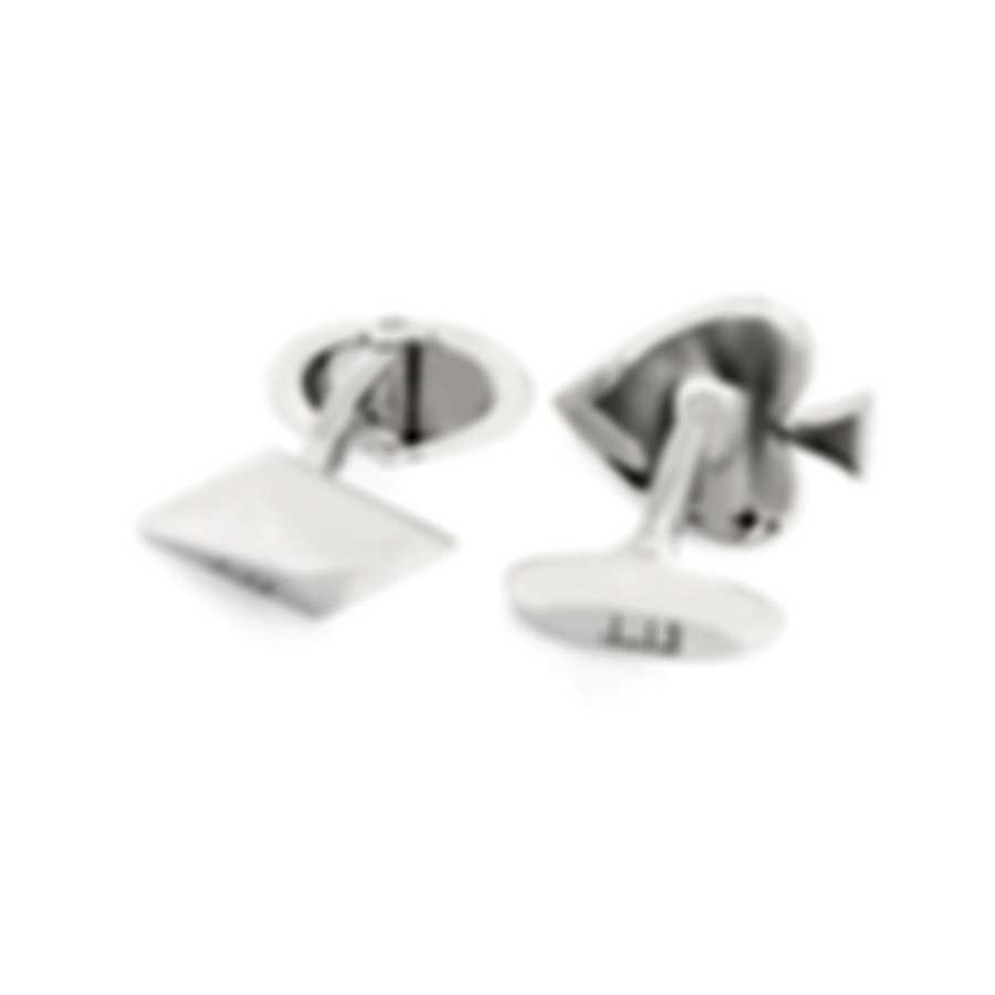 Dunhill Playing Cards Sterling Silver Cufflinks JMC82B5H
