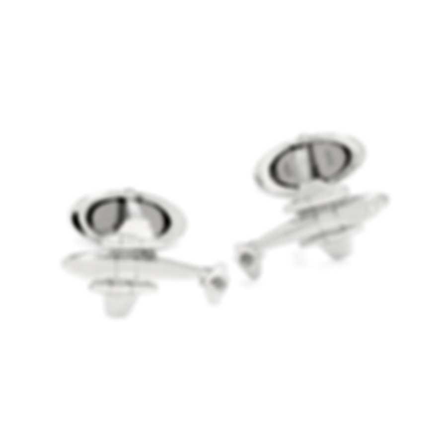 Dunhill Meteor Sterling Silver Cufflinks JMZ8264H