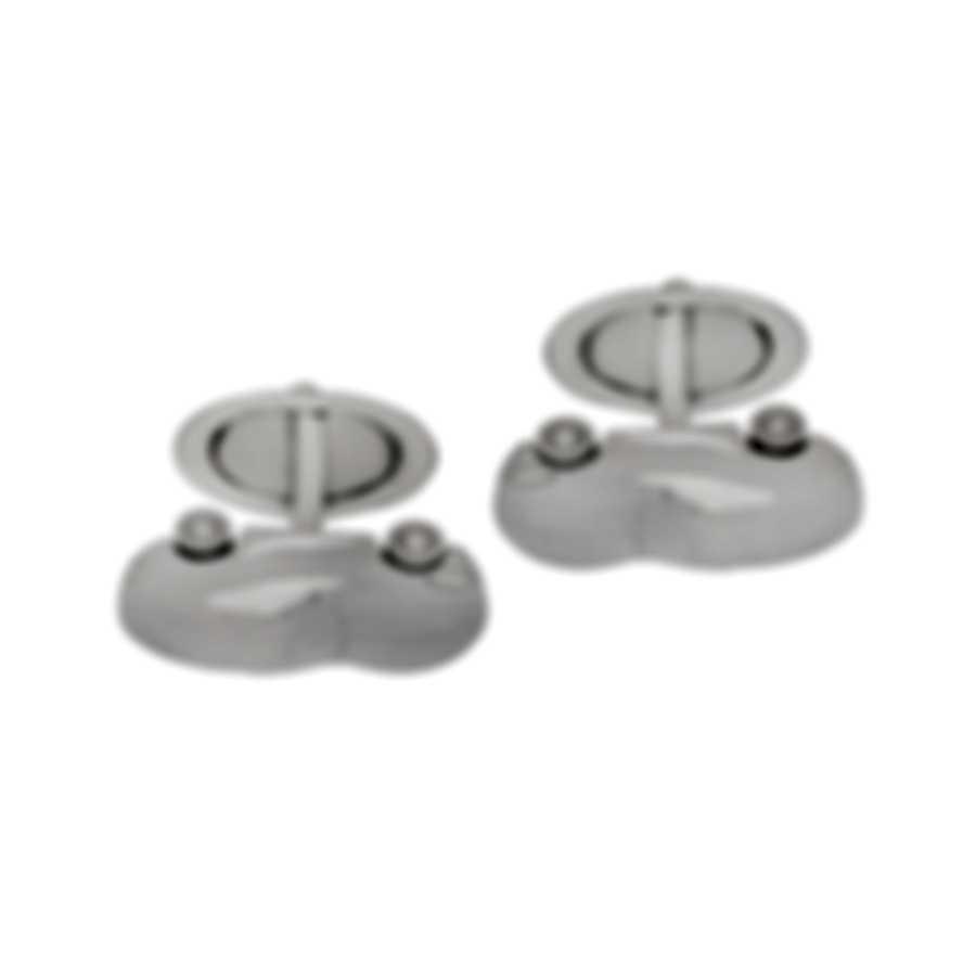 Dunhill Motorities Sterling Silver Cufflinks JMZ8265H