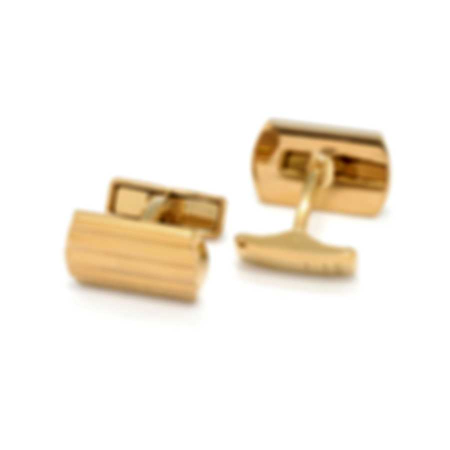 Dunhill Motor Ridge Gold Plate Brass And Gold Plate Cufflinks JNA52D9K