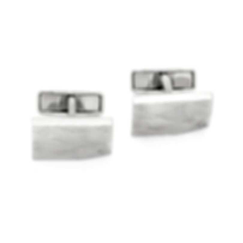Dunhill Waves Silver Sterling Silver Cufflinks JNB32F2K