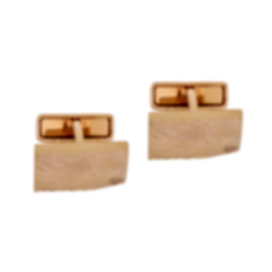 Dunhill Waves Gold Sterling Silver And Gold Plate Cufflinks JNB52F3K