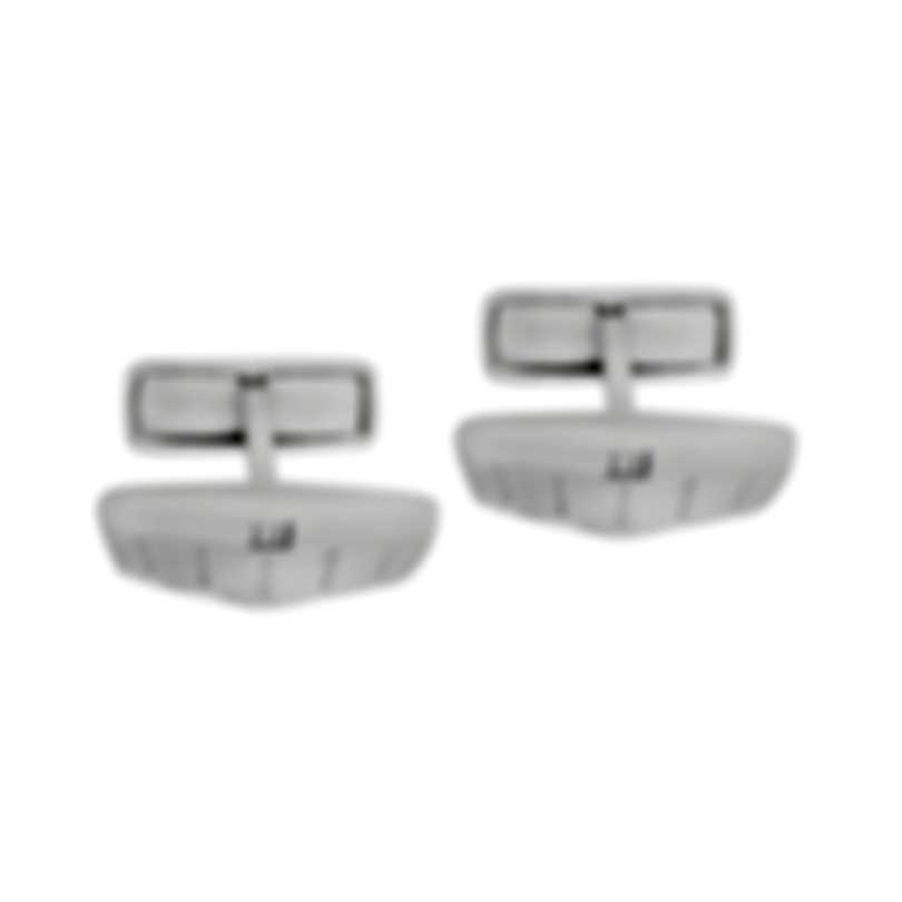 Dunhill Dunhill C Grill Sterling Silver Cufflinks JNC32H9K