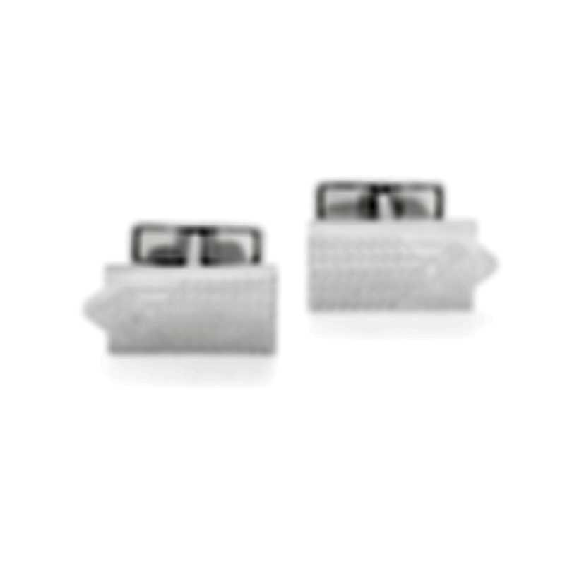 Dunhill AD Tyre Sterling Silver Cufflinks JNC32J2K