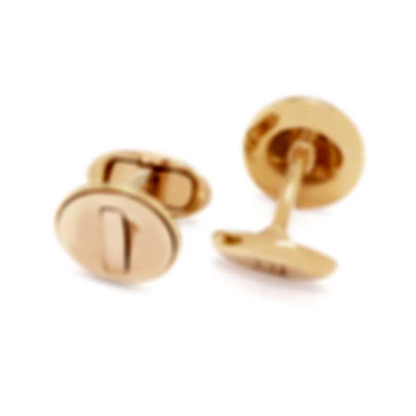 Dunhill Ignition Gold Gold Plate Cufflinks JNX5236K
