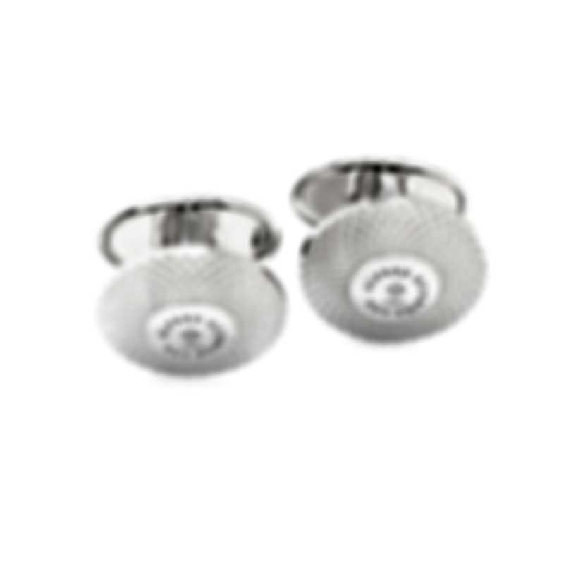 Dunhill ET Silver Sterling Silver Cufflinks JDW8235H