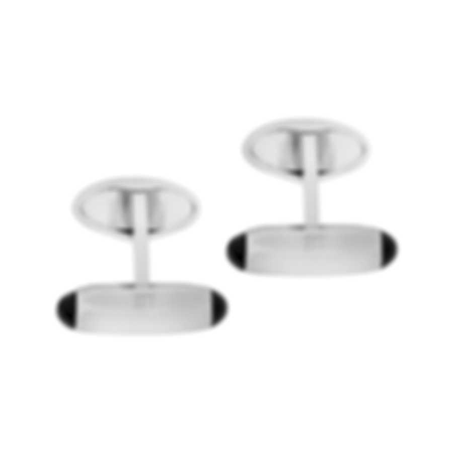 Dunhill New Pen Silver Brass And Rhodium Plate Cufflinks JSB3221K