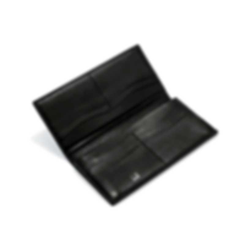 Dunhill Men's Black Leather Coat Wallet L2H210A