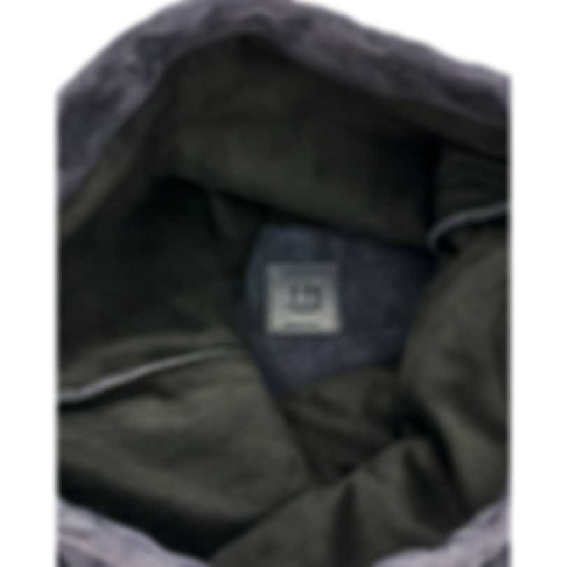 Dunhill Men's Midnight Blue Suede And Leather Backpack L3CH57N