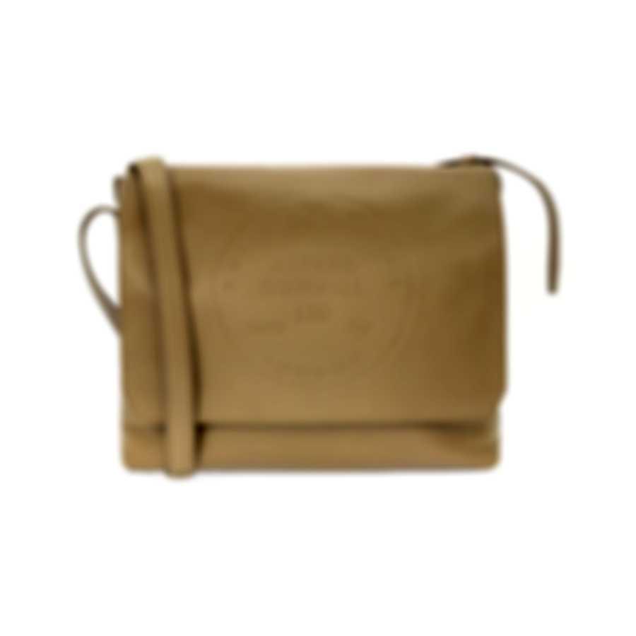 Dunhill Men's Taupe Leather Messenger Bag L3CH65T