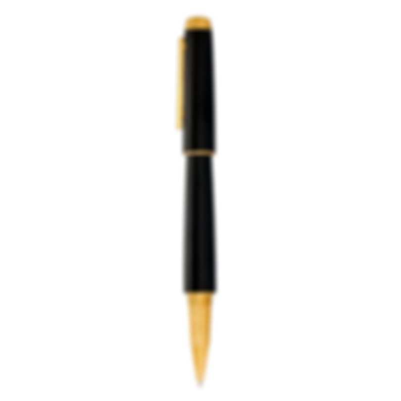 Dunhill Avorities Black & Gold Aluminum And Brass Rollerball Pen NNV3603