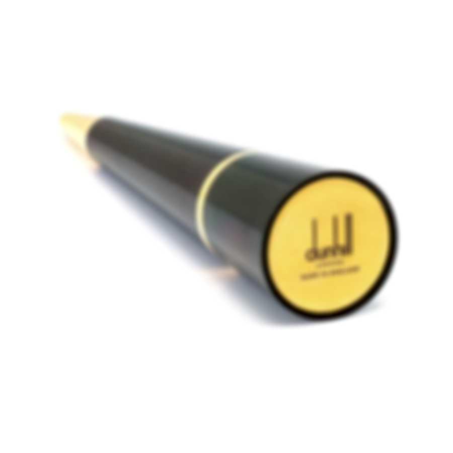 Dunhill Desk Pen Black & Gold Lacquer And Gold Ballpoint Pen NDC2993