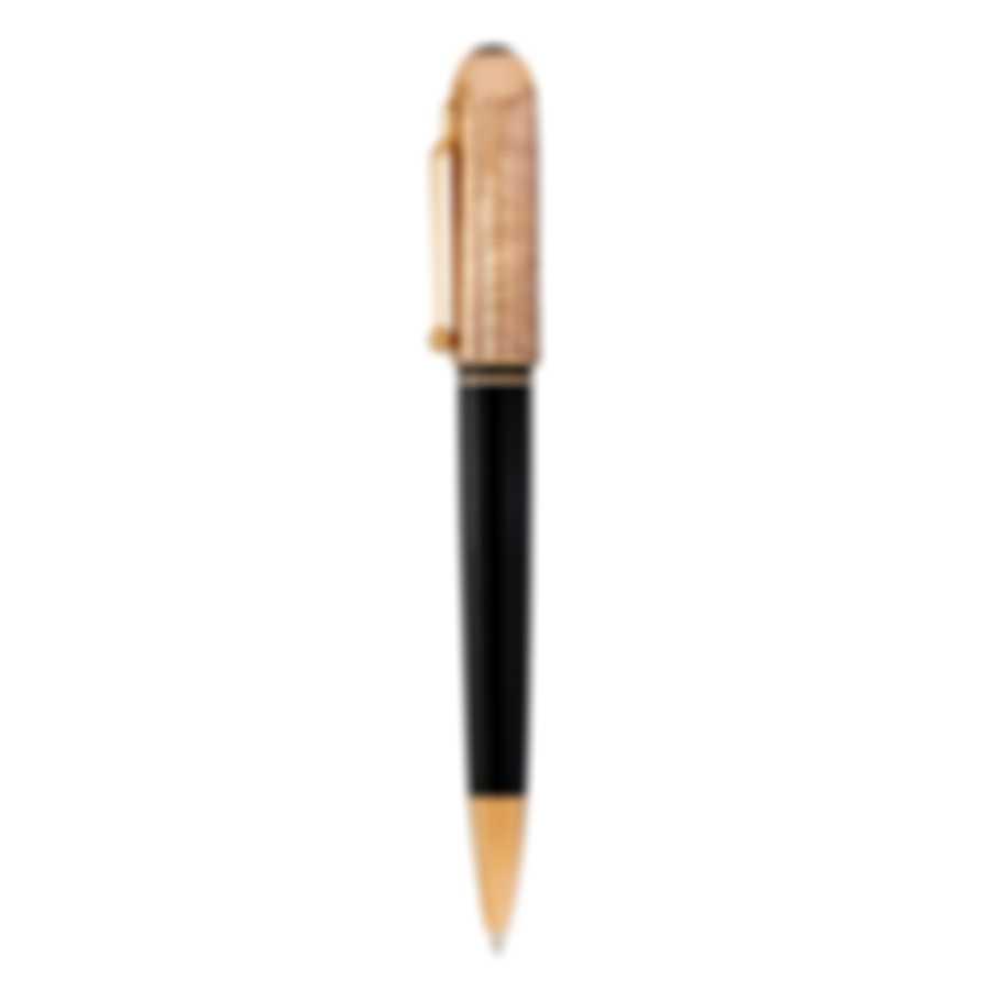 Dunhill Sidecar Black & Gold Resin Ballpoint Pen NUB2633