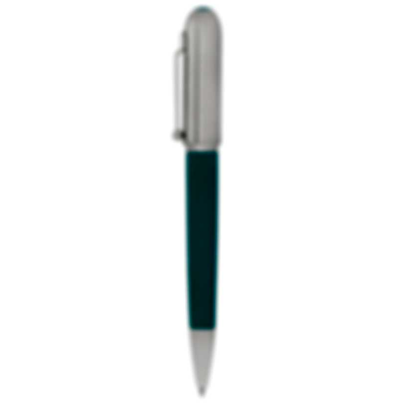 Dunhill Sidecar Turquoise & Silver Leather Ballpoint Pen NUC2923