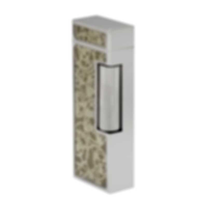 Dunhill Rollagas Skeleton Grey & Silver Lighter RLR2348