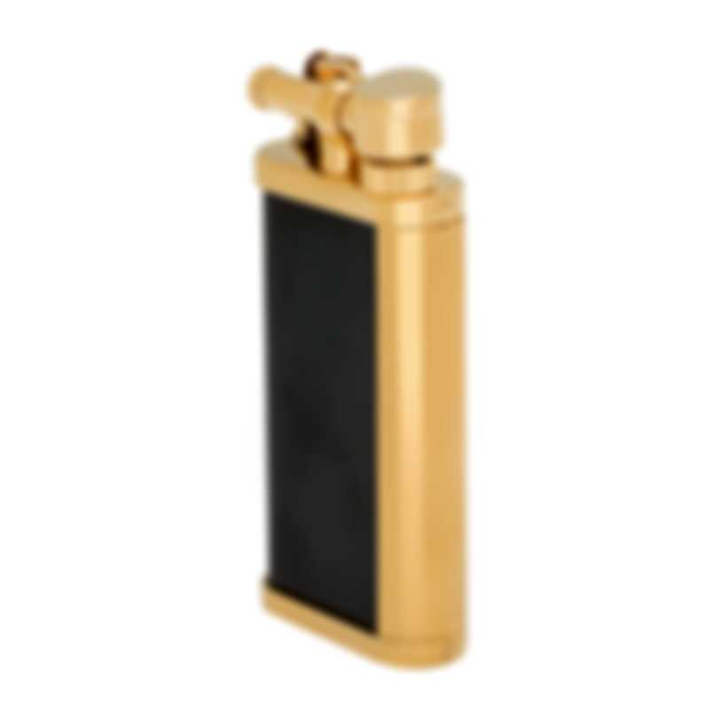 Dunhill Unique Black PVD And Gold Plate Lighter ULY1465