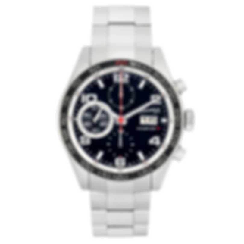 Eberhard Champion V Grande Date Chronograph Automatic Men's Watch 31064.2-SS