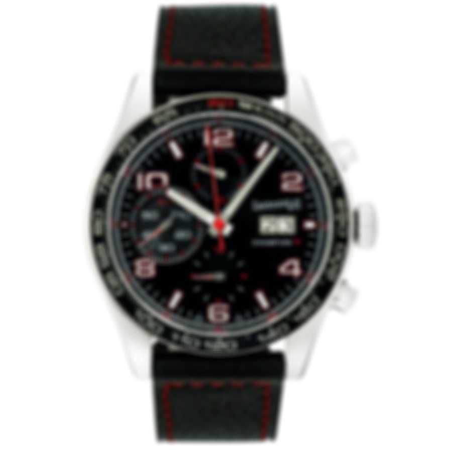 Eberhard Champion V Grande Date Chronograph Automatic Men's Watch 31064.3 R