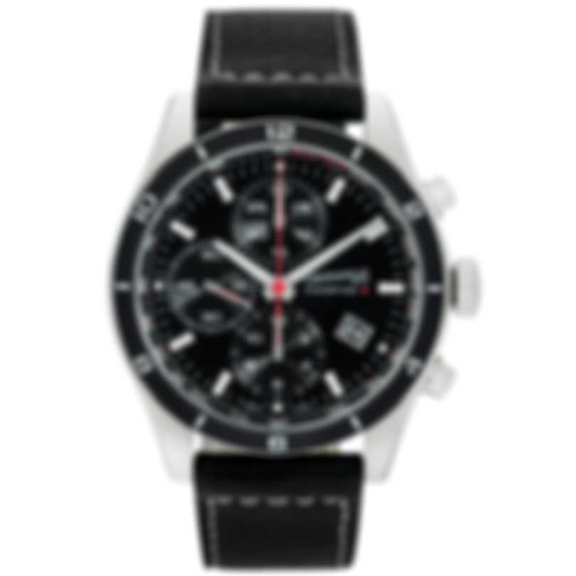 Eberhard Champion V Chronograph Stainless Steel Automatic Men's Watch 31063.5
