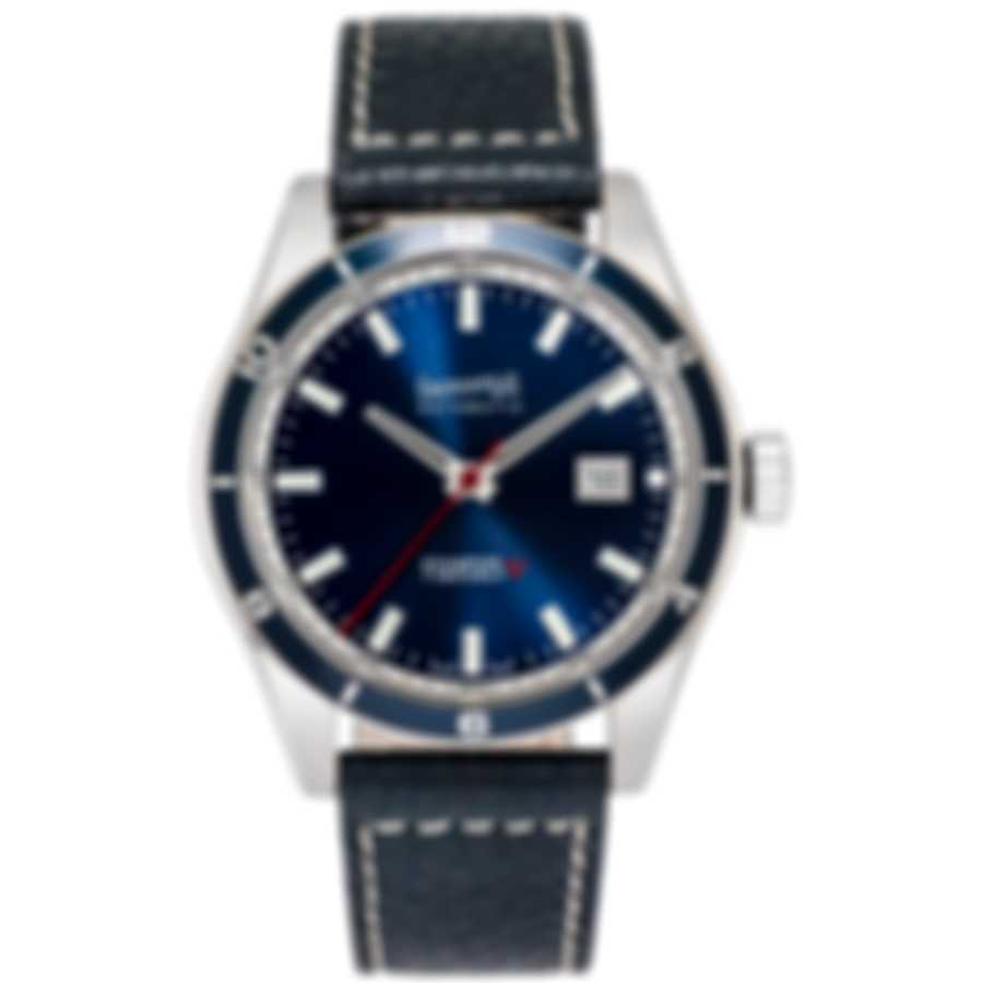 Eberhard Champion V Time Only Blue Dial Automatic Men's Watch 41031.3L