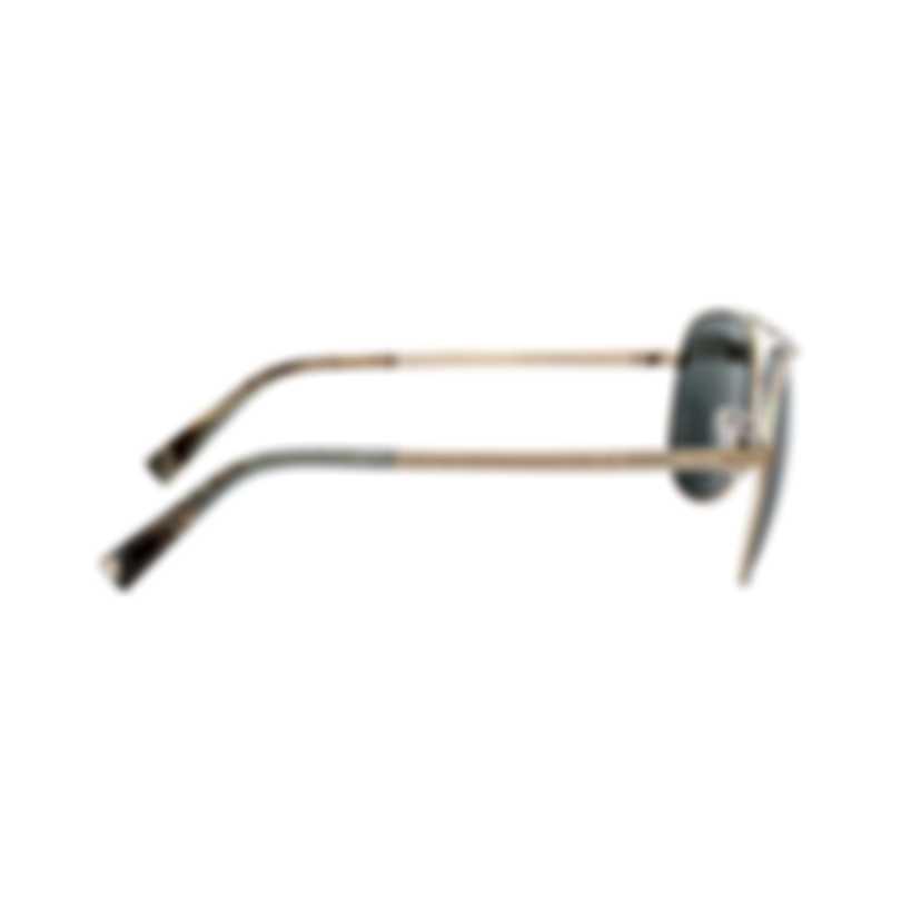 Ermenegildo Zegna Women's Gold Metal Sunglasses EZ002732N
