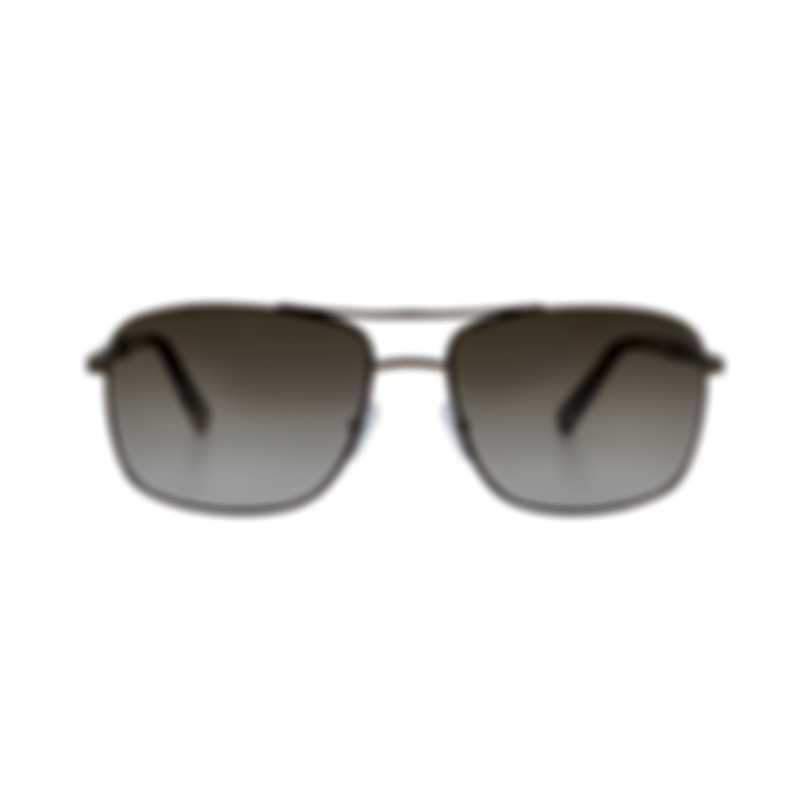 Ermenegildo Zegna Women's Brown Metal Sunglasses EZ002135P