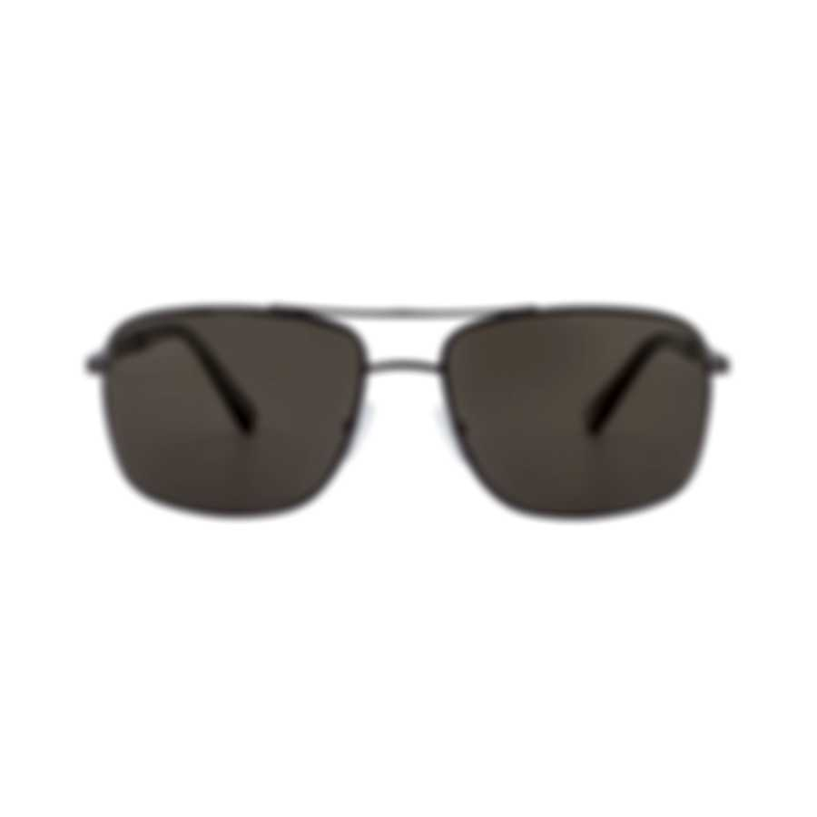 Ermenegildo Zegna Women's Brown Metal Sunglasses EZ002137M