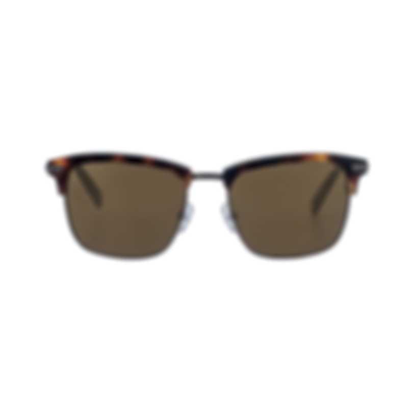 Ermenegildo Zegna Women's Havana Metal Sunglasses EZ009252J