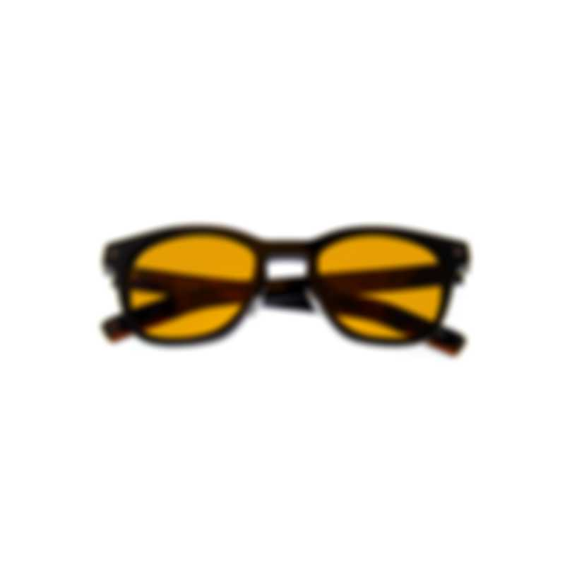 Ermenegildo Zegna Shiny Black & Brown Sunglasses EZ0125-F-5101E